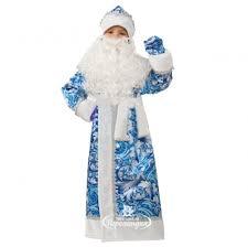 <b>Карнавальный костюм Дед</b> Мороз Сказочный, рост 140 см, <b>Батик</b> ...