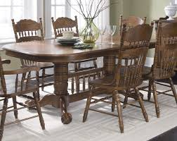 Old World Dining Room Sets Old Liberty Furniture Old World Piece X Dining Room Set In Oak