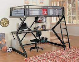 desk under home design remodeling ideas black matte finish modern bunk bed bedroom bed desk dresser combo home