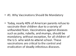 research paper thesis statement examples thesis examples a thesis   why vaccinations should be mandatory today nearly  of american parents