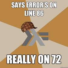 Scumbag Functional Programming Language Interpreter memes   quickmeme via Relatably.com