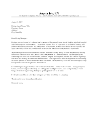 nurse cover letter examples registered nurse cover letter examples