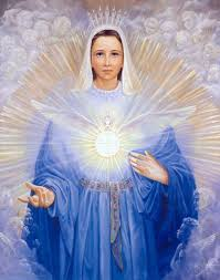 Image result for Through Mary, the Father's blessing has shone forth on mankind