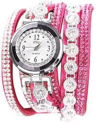 Muranba Watches CCQ <b>Women</b> Vintage <b>Shining Crystal</b> Bracelet ...