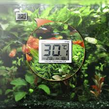 Mini <b>LCD Digital</b> Fish Tank Aquarium Thermometer <b>Water</b> ...