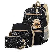 2019 <b>fashion</b> school bags for teenager <b>girls 3 pcs</b>/<b>set</b> children ...