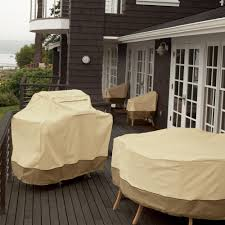 classic accessories veranda patio chair cover durable and water resistant outdoor furniture cover standard pebble 78912 best patio furniture covers