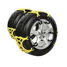 Rupse Set of <b>6pcs Universal</b> Snow Tire Chains Anti-slip Chain For ...