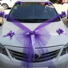 Artificiales Heart shaped <b>Wedding Car</b> Decoration <b>Flowers Set</b> ...