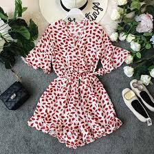 <b>NiceMix 2019 summer</b> new printed women jumpsuits and rompers ...
