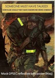 Reflective belts: This Soldier gets it! - AR15.Com Archive via Relatably.com
