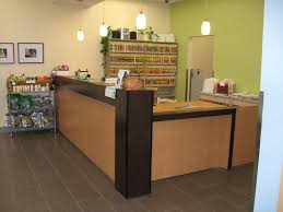 office reception counter furniture medical office reception desk with green wall paint and ceiling lamps how cheap office furniture ikea