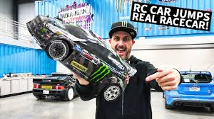 Ken Block's <b>1/8 Scale RC</b> Shred Session... Around Real Racecars ...