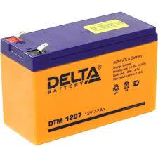<b>Аккумулятор для ИБП</b> 12V 7.2Ah <b>Delta</b> DTM 1207 — купить, цена ...
