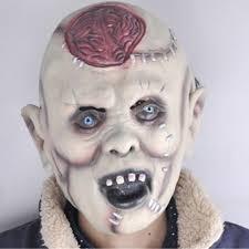HalloweenSuper Horror <b>Mask Devil</b> Rotten Head Burst Brain <b>Mask</b> ...