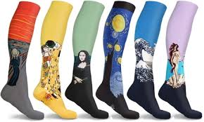 Up To 80% Off on <b>Compression Socks</b> (3- or 6-Pk) | Groupon Goods
