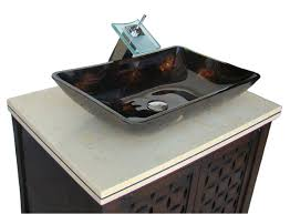 attractive vessel sink vanity for your single bathroom decoration vessel sink vanity with adelina 30 cabinet and lighting