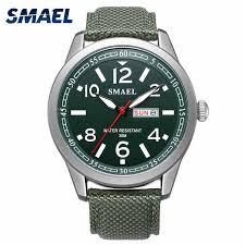 New <b>SMAEL Men</b> Watches Military 2018 Alloy Big Dial <b>Sport</b> Watch ...