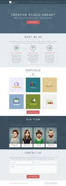 psd templates one page web templates bies graphic ungart one page psd template
