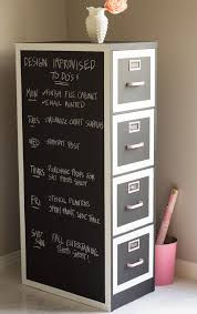 office space decor in the workplace black file cabinet chalkboard paint storage organization beautiful home offices ways
