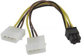 Купить Кабель <b>питания</b> Molex 8980 - PCI-E <b>6pin</b> в интернет ...