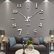 Modern - Wall Clocks / Clocks: Home & Kitchen - Amazon.co.uk