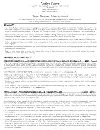 architect resume sample   good resume sampleresume architect carlos ponce