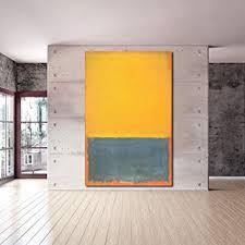 Karen Max <b>Mark Rothko</b> Classical Still Life Oil <b>Painting</b> Living <b>Room</b> ...