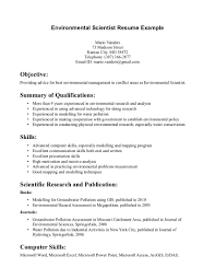 environmental manager resume examples resume examples  environmental