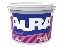 <b>краска фасадная в/д AURA</b> Expo 2,7л, арт.4607003910839 ...