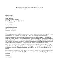 sample cover letter college student  template sample cover letter college student