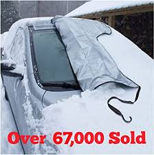 SnowOFF Windshield Snow Ice Cover - Custom Made ... - Amazon.com