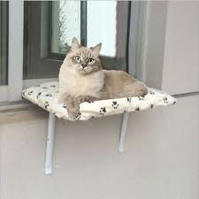 <b>Kitty</b> Sill <b>Deluxe</b> with <b>Removable</b> Bolster Window Perches Sunny ...