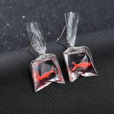 Terreau Kathy Cute Koi Fish Water Bag <b>Earrings</b> For Women <b>2019</b> ...