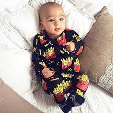 <b>TinyPeople 2019 Baby</b> Romper cute Print Cotton Boys onesie ...