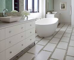 white bathroom floor: remarkable decoration white bathroom floor tile adorable  glitter tiles ideas and pictures