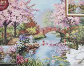 <b>Японский сад</b> 91415. <b>Наборы</b> для раскрашивания > Dimensions ...