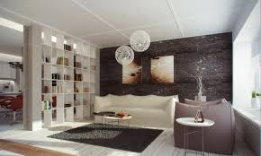 living room dividers ideas attractive:  bookshelf as room divider