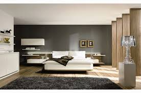 awesome modern bedroom furniture design ideas showing fascinating grey fur rug and white padded mattress king bedroom furniture modern white design