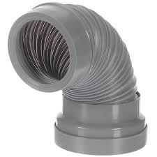 <b>Труба гофрированная для унитаза армированная</b> d 110 мм L 300 ...