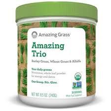 <b>Amazing Trio</b> (Alfal/<b>Barley</b>/Wheat) 8.5 oz by Amazing Grass