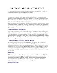 medical assistant essay essay on medical assistant template