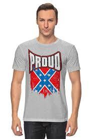 <b>Футболка классическая Флаг</b> Конфедерации США #1575239 от ...
