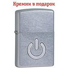 <b>Зажигалка Zippo</b> 28329 Power <b>Button</b> | zippo-ua.com
