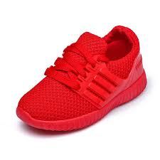 <b>KINE PANDA</b> Nice Red <b>Kids</b> Casual Sneakers Little Girls Boys Sport ...