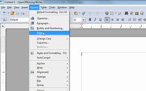 changing the margins in open office writer to be like ms word changing the margins in open office writer to be like ms word other changes