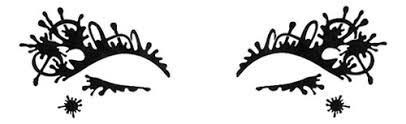 Купить <b>наклейки на глаза</b> splashionista festival black Face Lace ...