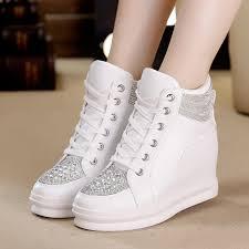 <b>SWYIVY</b> Chaussures Femme White <b>Shoes Woman</b> High Top ...