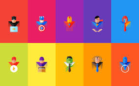superheroes at work weekdone in that sense each of us has enhanced abilities that are more developed than others some are great at math some possess extraordinary social skills