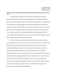 essay cold warhot essays  the causes of the cold  lt a href  quot http